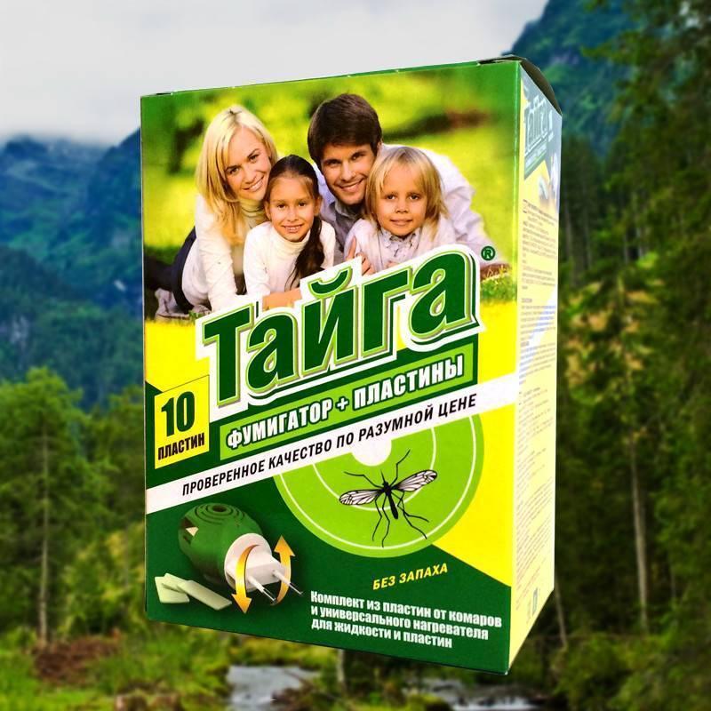 Средства Тайга от комаров