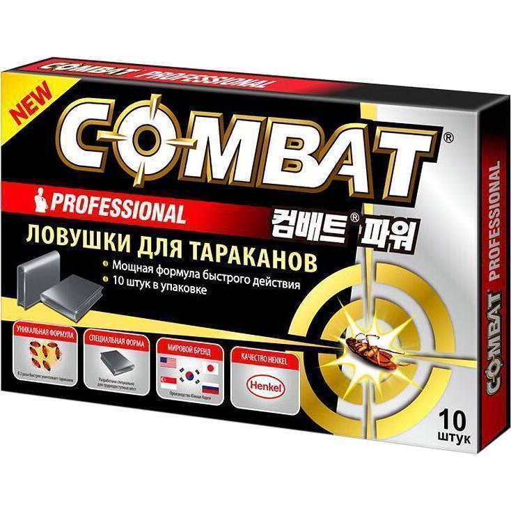 Препарат комбат от тараканов: аэрозоль или спрей, ловушка, гель