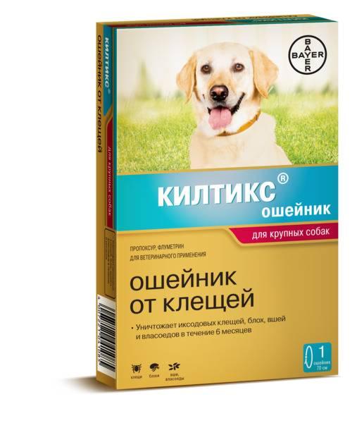 Ошейники для защиты собак и кошек от блох